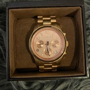 Michael Kors Watch - rose gold - LIKE NEW!!